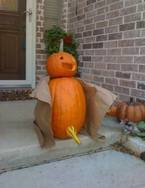 halloween memes flasher jack o lantern