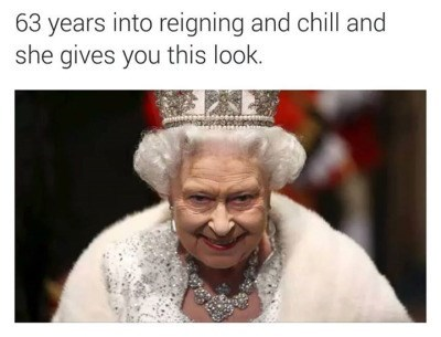 Queen Elizabeth II,netflix and chill,netflix