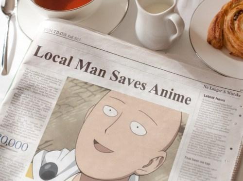 anime memes one punch man