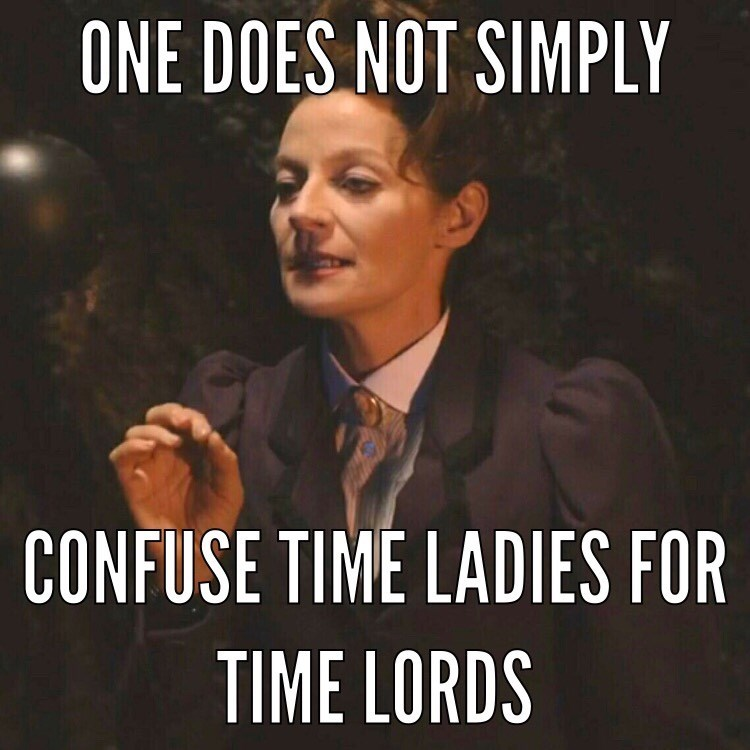 funny-doctor-who-time-lady-its-not-that-hard-folks-meme