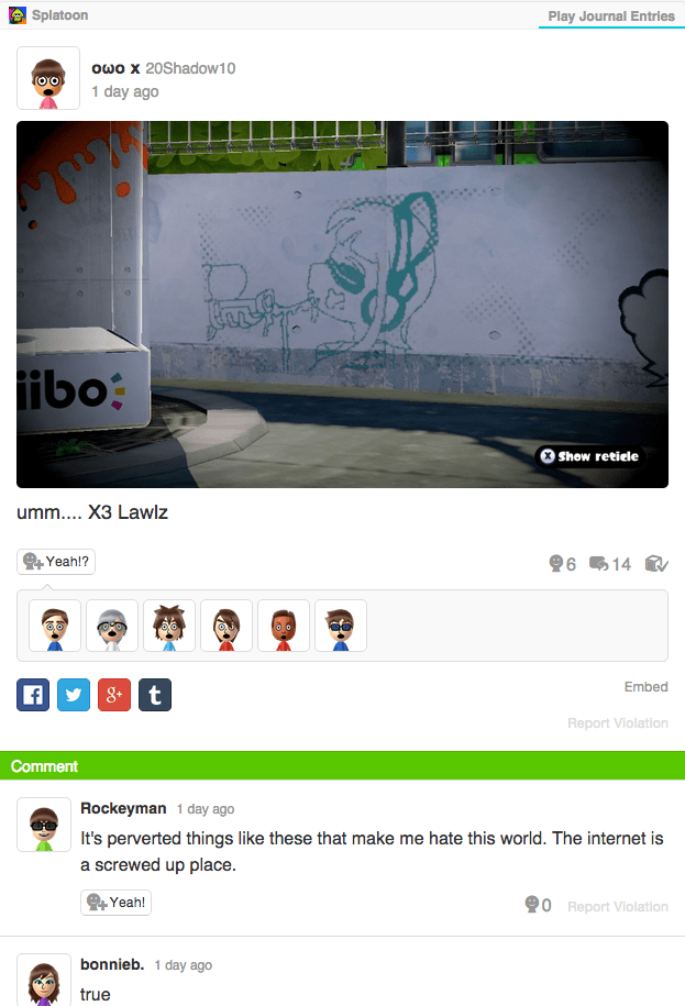 video game memes naughty splatoon drawing