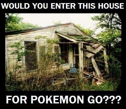 pokemon memes haunted house go
