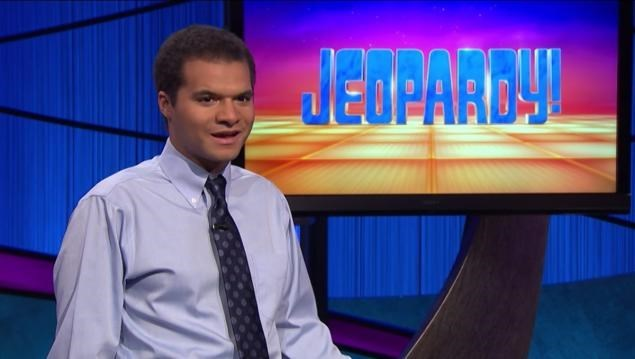 Matt Jackson is the new Jeopardy winner and it has the creepiest smile.