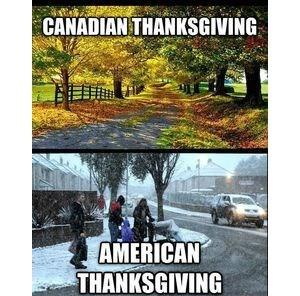 October in Canada