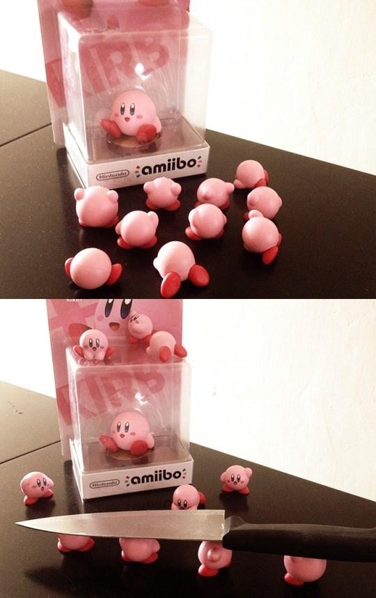 video game memes kirby amiibos