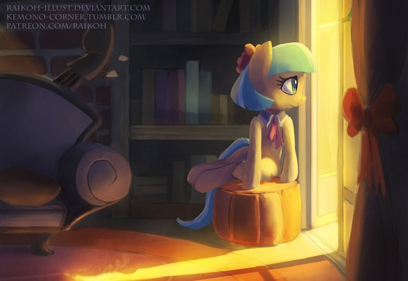Fan Art cute coco pommel
