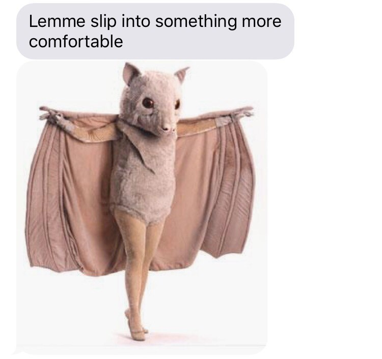halloween memes slip into something more comfortable bat
