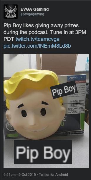 fallout 4 pip boy vault boy - 8573709568