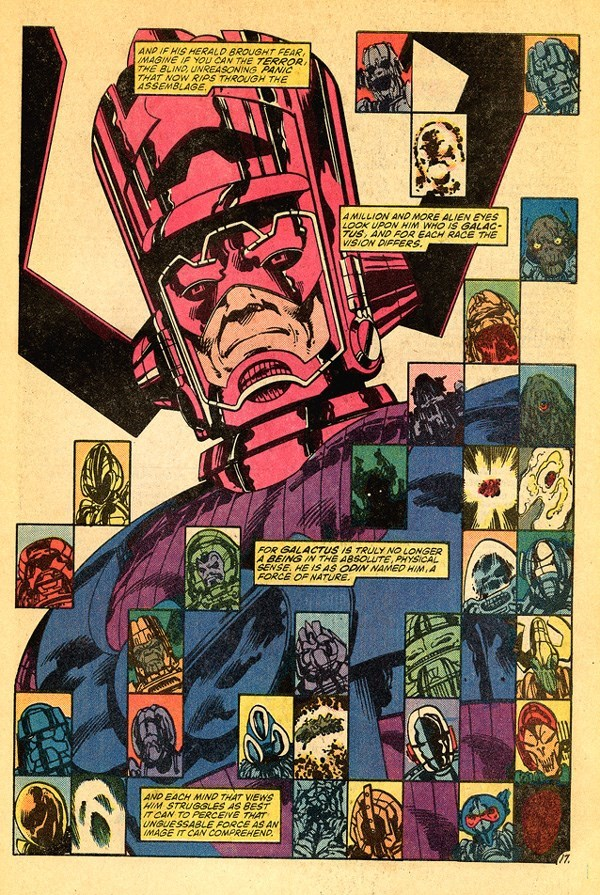 galactus,Straight off the Page