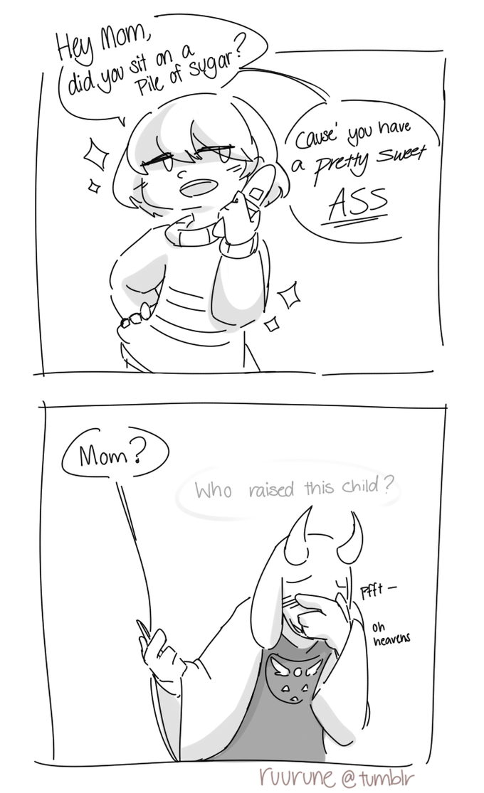 >Call Her Mom, Then >Flirt