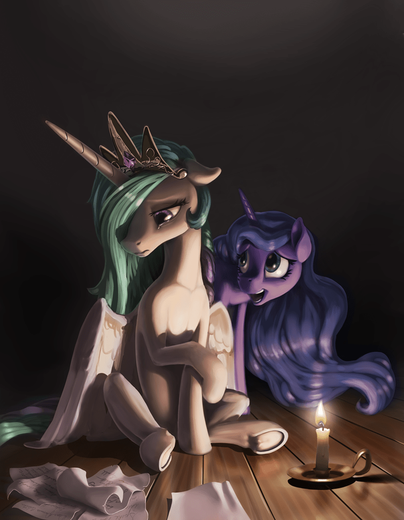 Fan Art princess celestia - 8574190080
