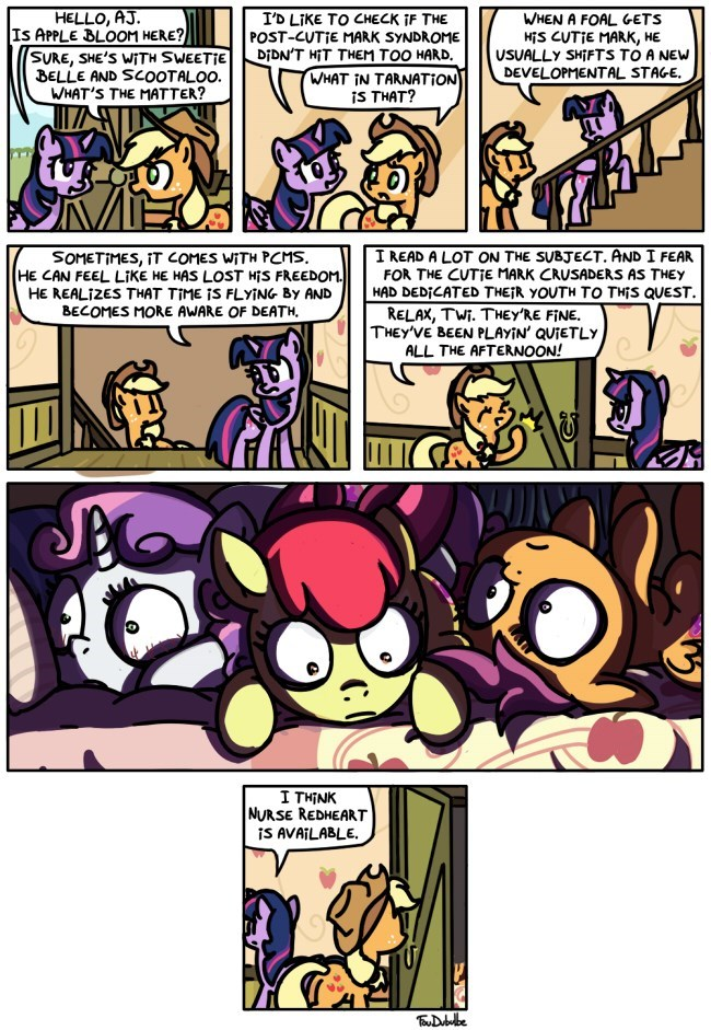 cutie mark crusaders,web comics