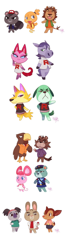 pokemon memes animal crossing
