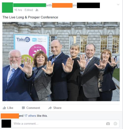 trolling meme live long prosper conference