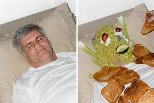 trolling meme drunk dad covered in guacamole