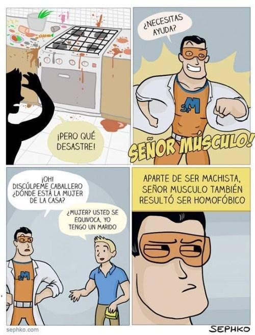 superheroe moderno