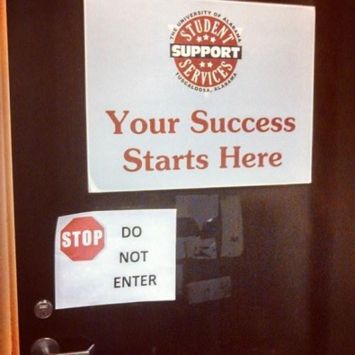 trolling memes do not enter for success