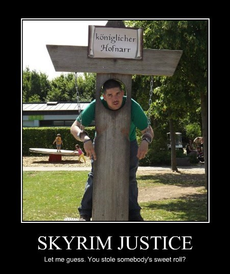 SKYRIM JUSTICE
