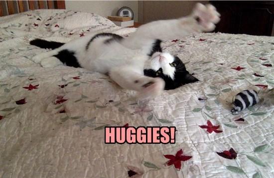 Hug attack!