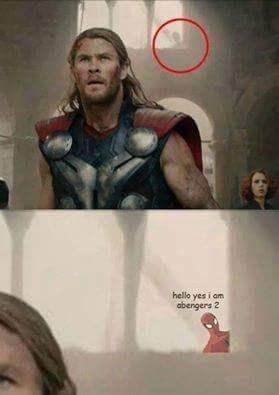 funny spider-man avengers Spider-Man, So Subtle