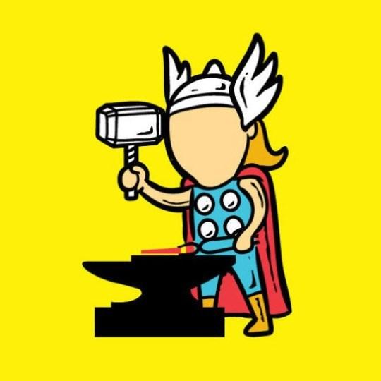 thor jobs Thor Can Still Use His Hammer as a Blacksmith