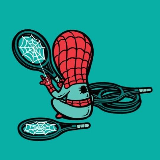 spider-man jobs Spider-Man Makes Amazing Tennis Rackets