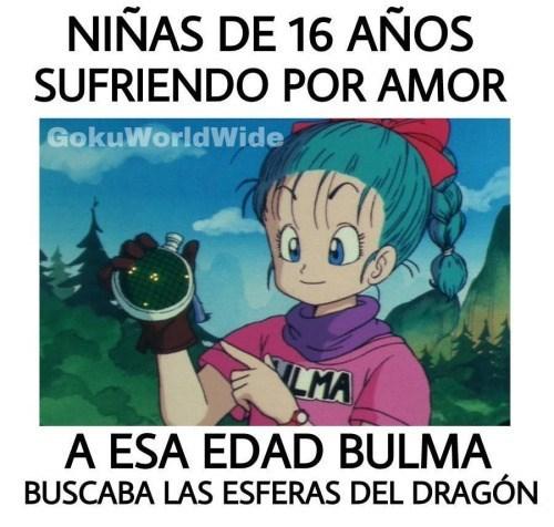 bulma y las esferas del dragon