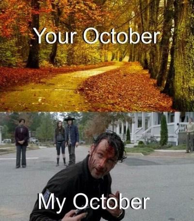Octobers Are More Fun When You're a Walking Dead Fan