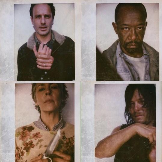 The Walking Dead Season 6 Cast Looks Tough as Nails