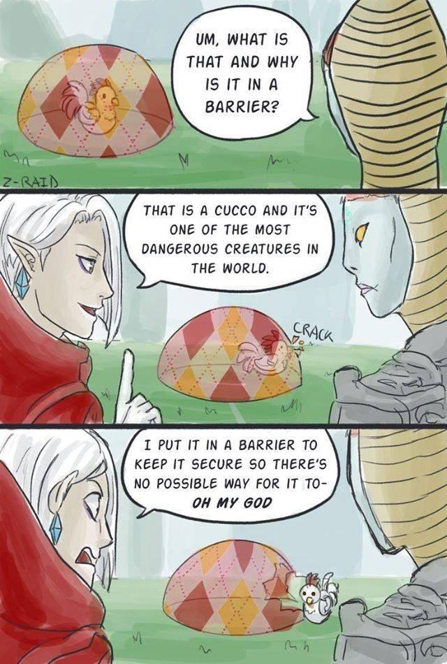 legend of zelda cucco web comics - 8574955008