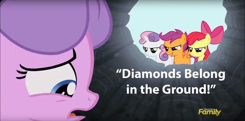 diamond tiara cutie mark crusaders - 8575176960
