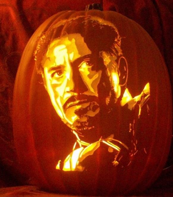 pumpkins Robert Downey Jr.