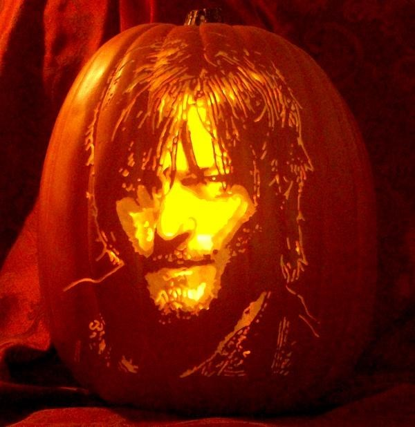 pumpkins daryl dixon