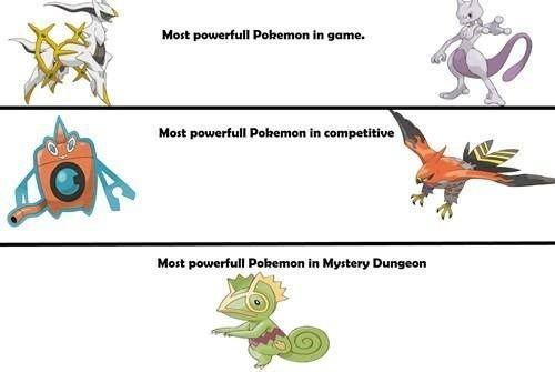 pokemon memes powerful pokemon in mystery dungeon