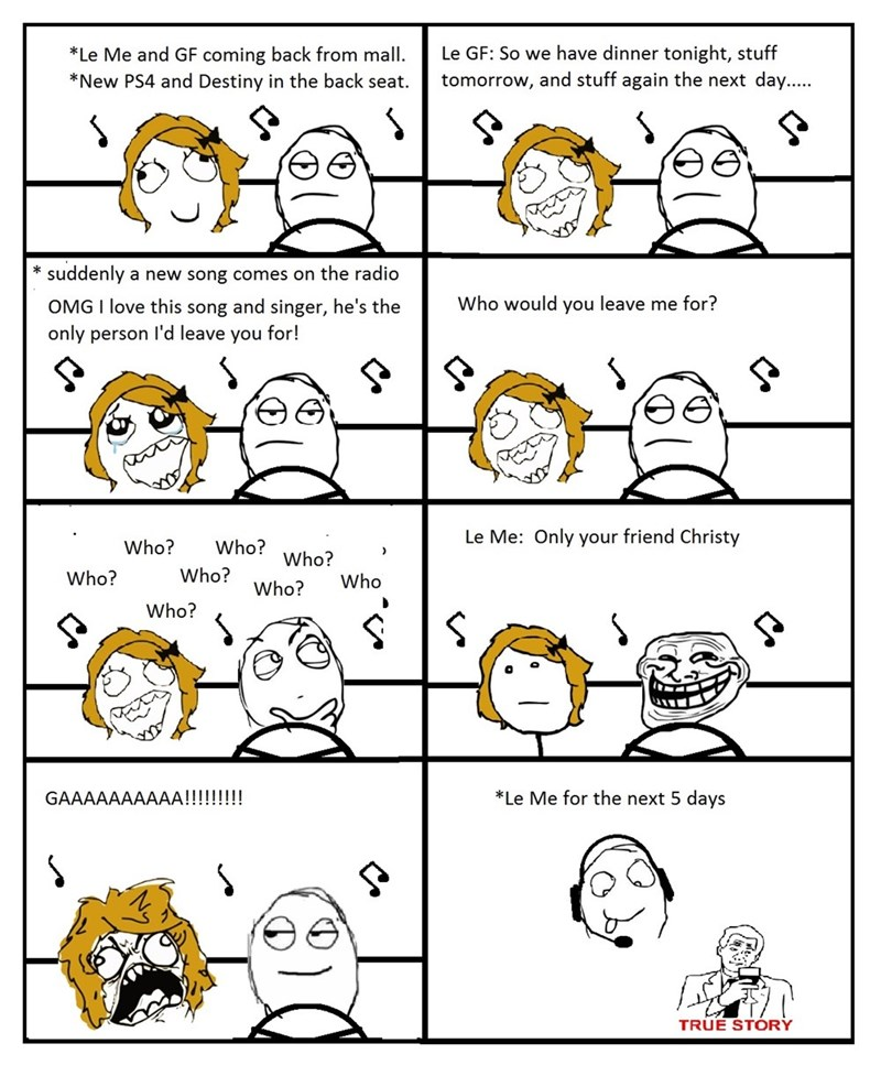 annoying true story girlfriend video games - 8575348736