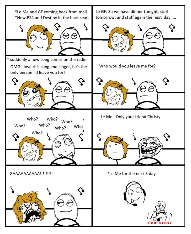 annoying true story girlfriend video games - 8575348736