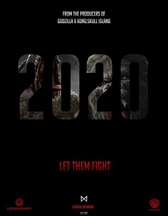Afbeeldingsresultaat voor godzilla vs king kong 2020
