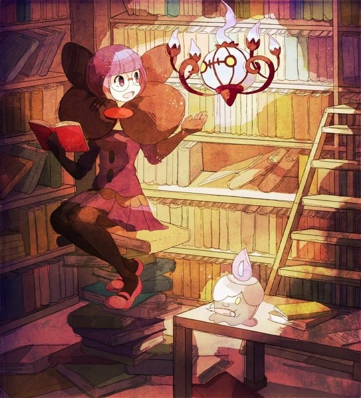 halloween chandelure - 8575358464