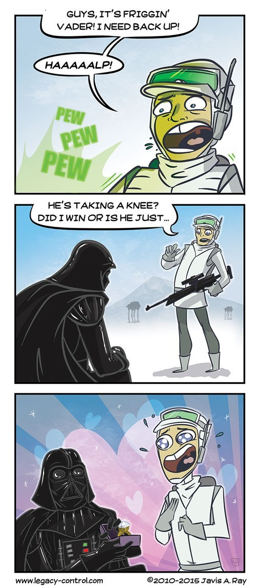 star wars web comics Do You or Do You Not?