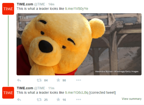 Looks Like Christopher Robin Grew Up to Become a Social Media Manager