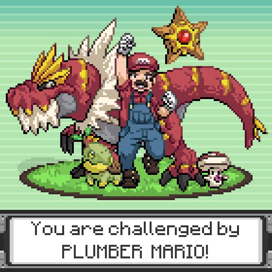 pokemon memes plumber mario trainer