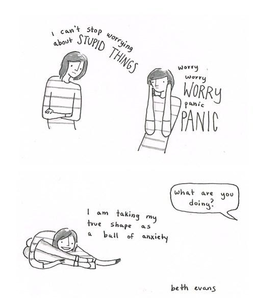 web comics anxiety Ah, That Feels Better