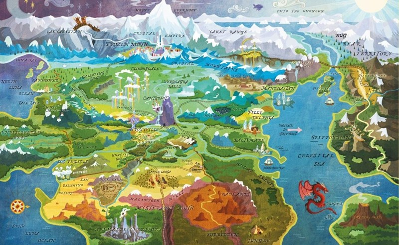 map,equestria