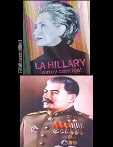 Hillary or Stalin