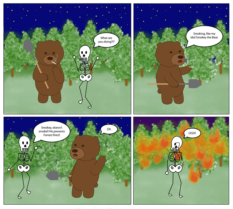 smokey the bear web comics Names Can Be Deceiving?