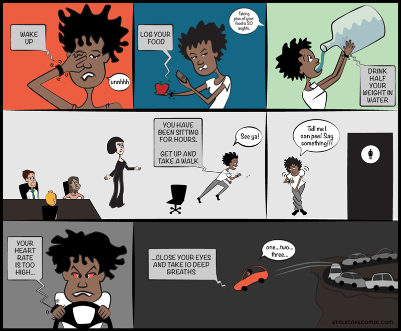 fitness web comics Fit Bit Will Take Over Your Life