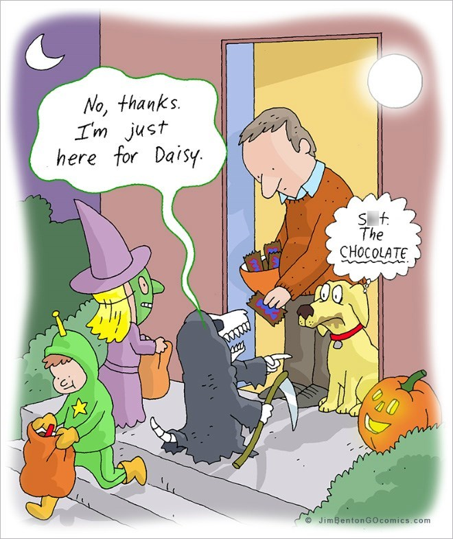 web comics halloween Remember to Take It Easy On the Treats That Will Definitely Kill You This Halloween