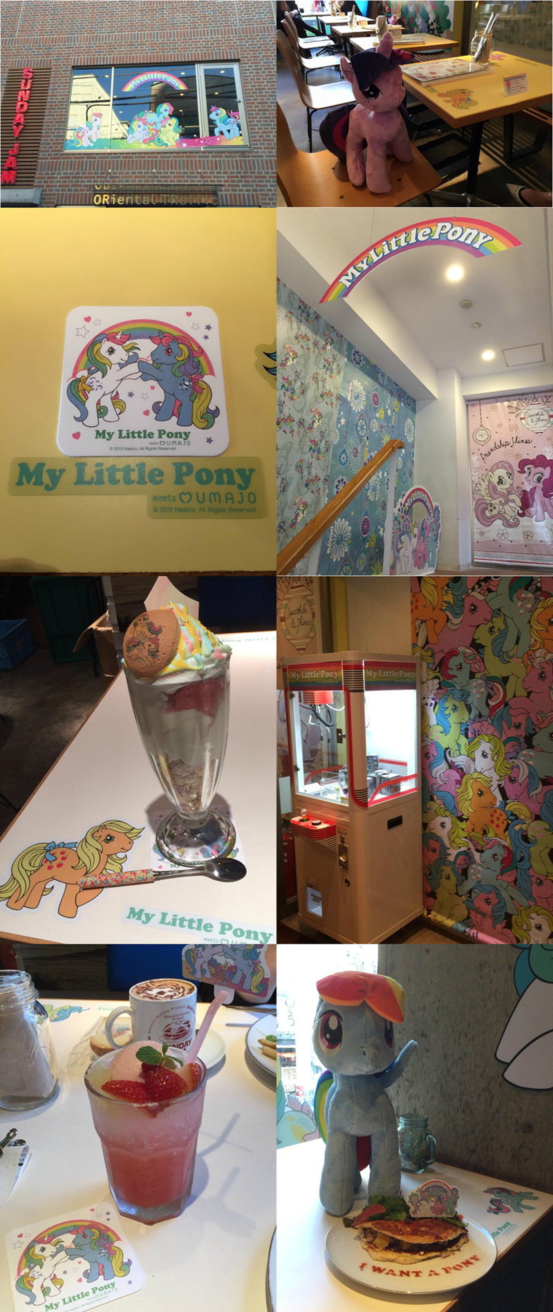 my little pony cafe japan