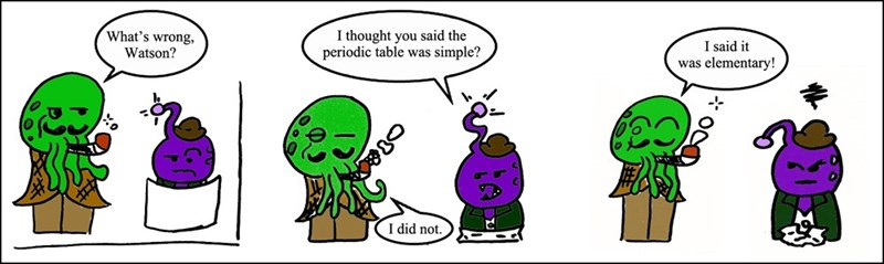 periodic table puns web comic Better Study Now Before All Your Opportunities Argon