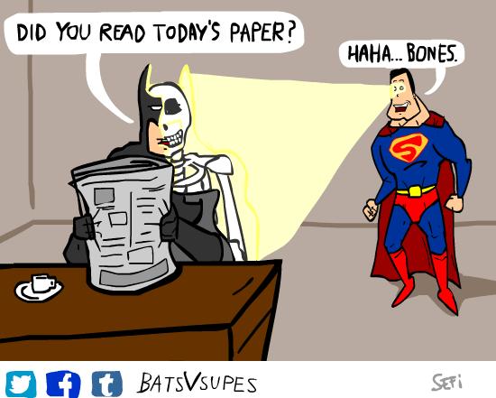 batman superman web comics Who Need Science When You're Nearly Invincible?